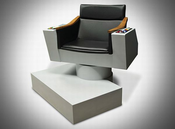 The Authentic James T. Kirk Captainu0027s Chair