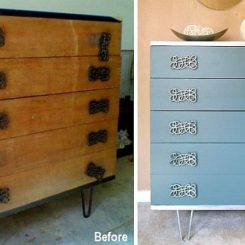 Before -after Dresser