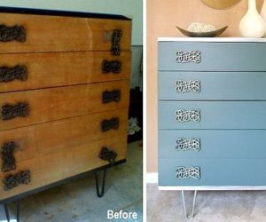 How to transform an old and ugly dresser into a show-piece