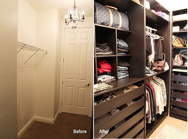 How to make your closet bigger and more functional for How do you organize your closet