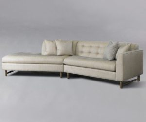 The Edward angled sectional sofa