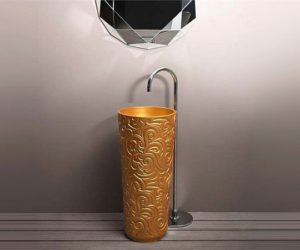 Free standing washbasin by Bruna Rapisarda