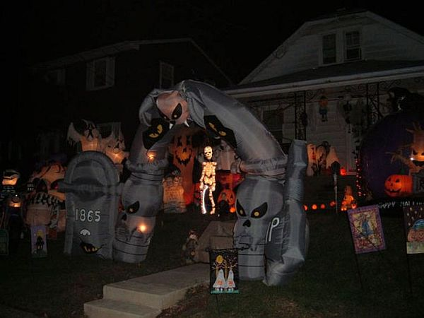 halloween front yard decoration ideas - Halloween Ideas For Yard
