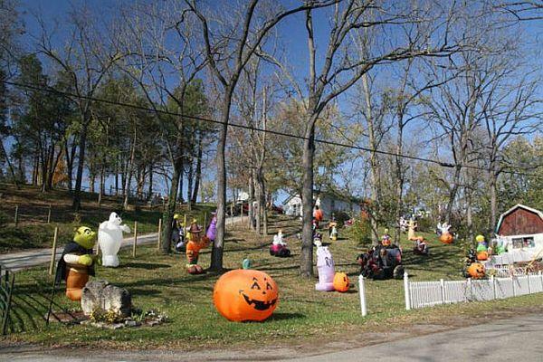 Halloween Front Yard Decoration Ideas