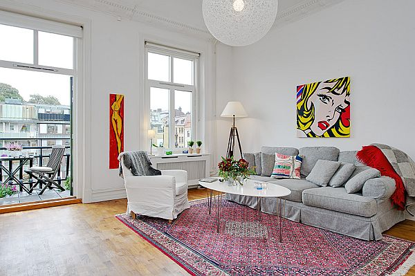 refurbished apartment with south-east balcony for sale