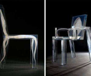 Eye Catching Ghost Chair from Studio Drift