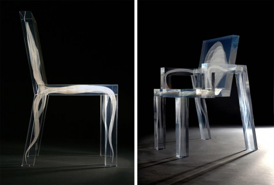 Eye Catching Ghost Chair From Studio Drift - Sonic-chair-modern-relaxing-chair-with-20-inch-imac