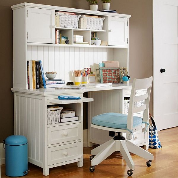 White Desk For Girls Room Adorable Inspiration15 Office Design Ideas For Teen Boys And Girls Decorating Design