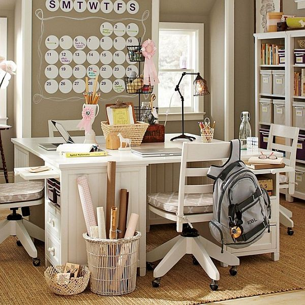 inspiration 15 office design ideas for teen boys and girls. Black Bedroom Furniture Sets. Home Design Ideas