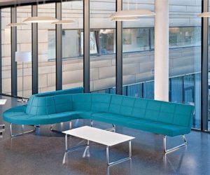 Creative modular sofa by Wolfgang C.R. Mezger