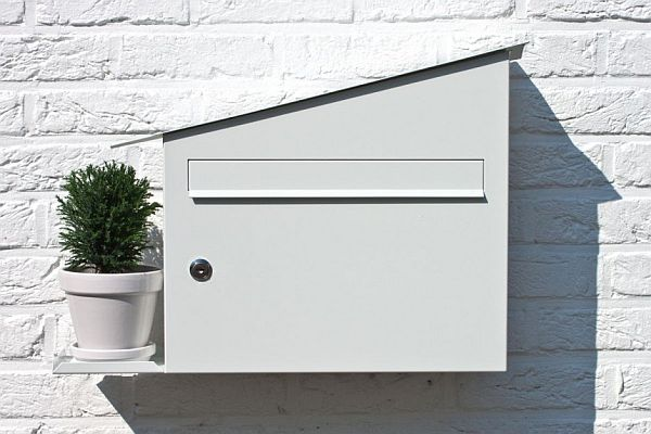 Outdoor inox mail box