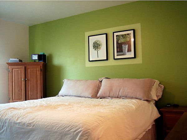 bedroom ceiling color ideas - How To Decorate A Bedroom With Green Walls