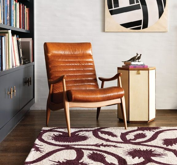 Interior Designer Furniture Delivery Liability Waiver ~ The hans leather chair