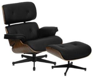 The Hercules Presideo lounge chair and ottoman set