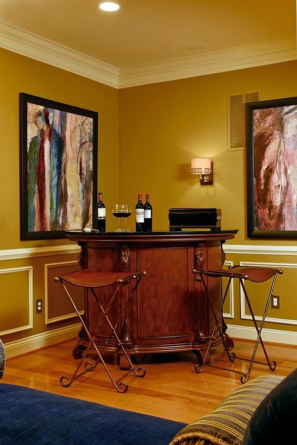 The best area to install a home bar