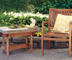 How To Build A Hypertufa Table For Your Outdoor Lounge Space