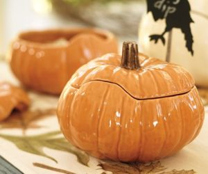 Lovely Pumpkin Serving Bowls