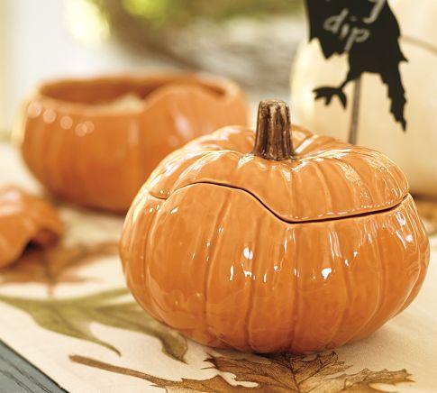 Lovely Pumpkin Serving Bowls