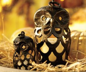 Lovely Owl Shaped Lanterns