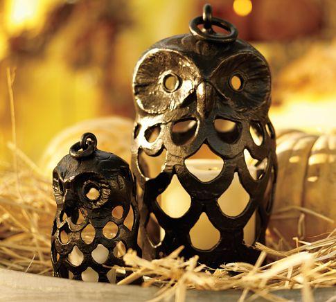 Lovely Owl Shaped Lanterns