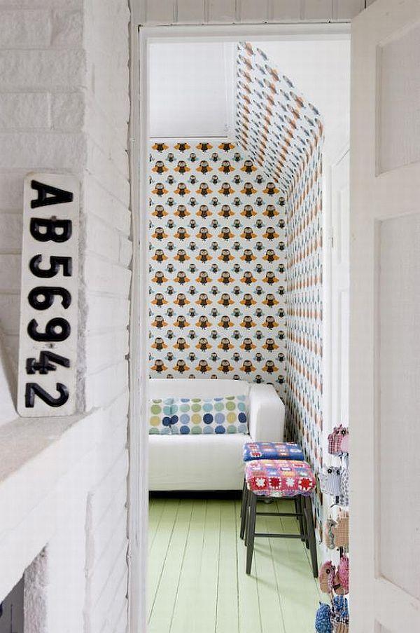 Industrial and vintage interior design