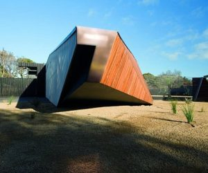 Unconventional house in Australia