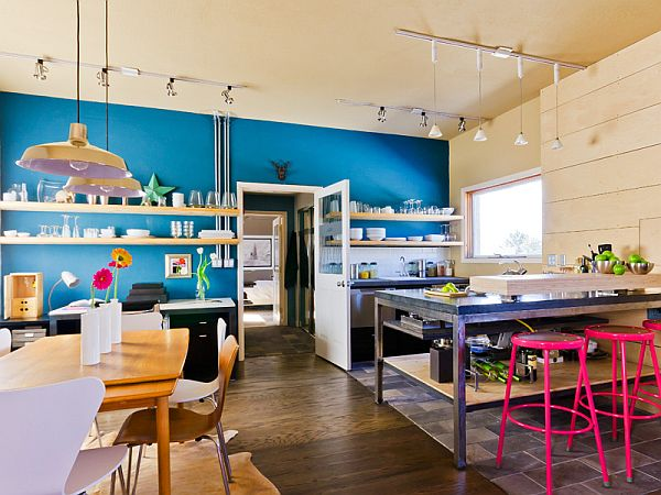 streamlined and stylish live/work space