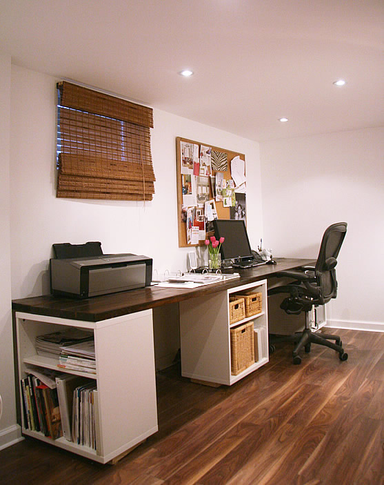 Amazing Homemade Desk Ideas Part - 4: Custom Desk Project