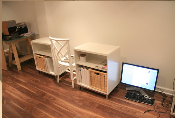 20 diy desks that really work for your home office for Custom build your own home