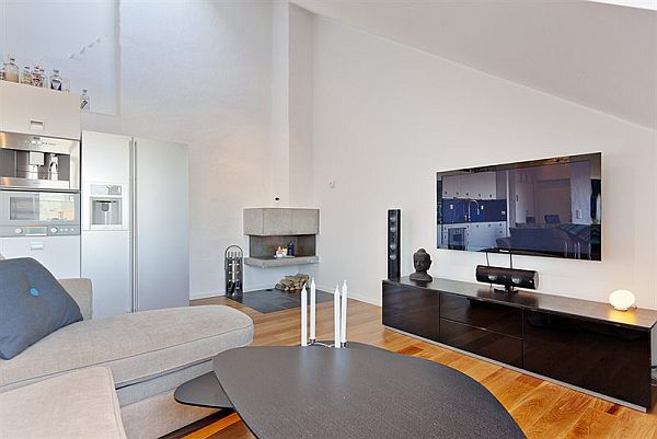 modern apartment living room. View In Gallery 3 1 Modern Apartment Stockholm