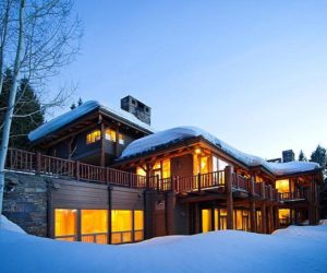 Luxurious property hidden among pine trees in Utah