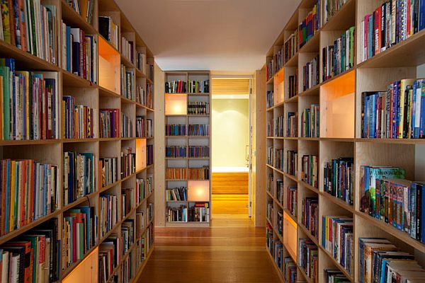Surprising residence  library