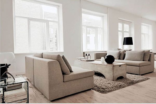 New york loft style in denmark for Interior decoration new york style