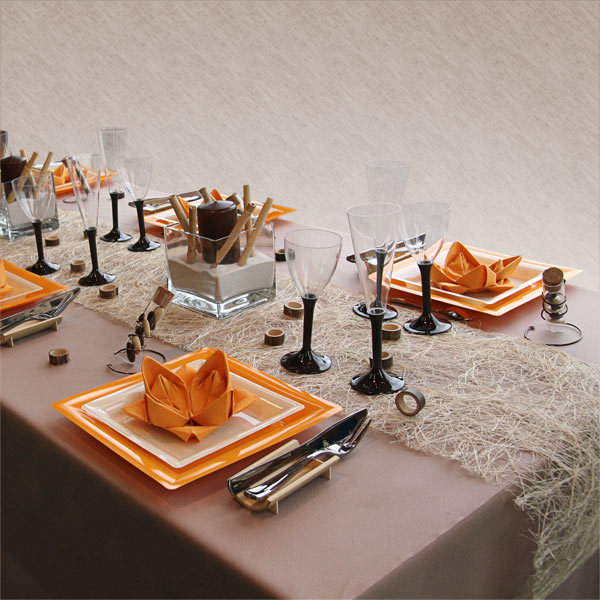 4 autumn table setting ideas for Decoration de table idees