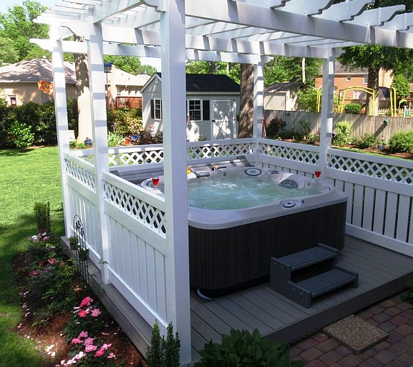 8 ways to place your original outdoor jacuzzi for Punch home and landscape design won t install