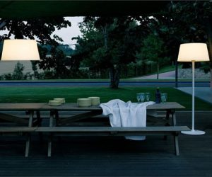 Plis outdoor pendant lamp by Ramos & Bassols