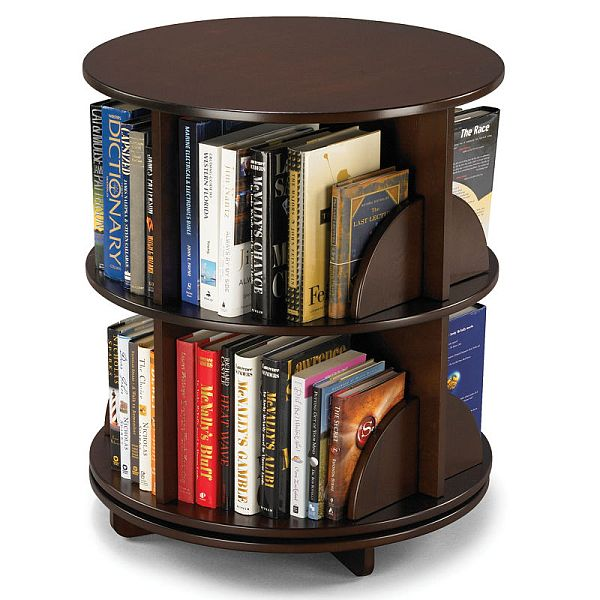 The Select Bookcase From Legare · Bi Level Rotating Bookcase