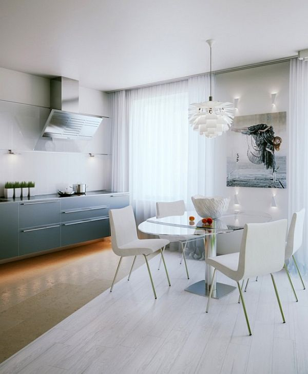 Small apartment interior design in St. Petersburg