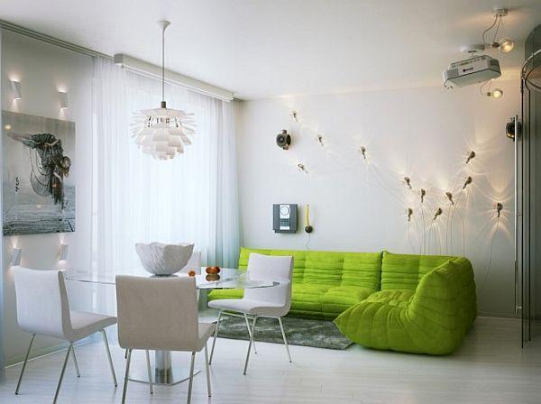 Small apartment interior design in st petersburg