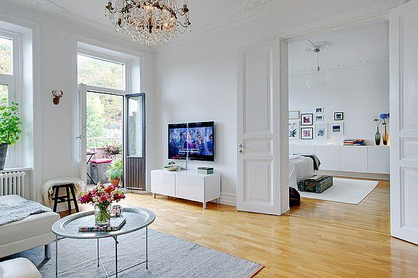 Fresh interior design apartment