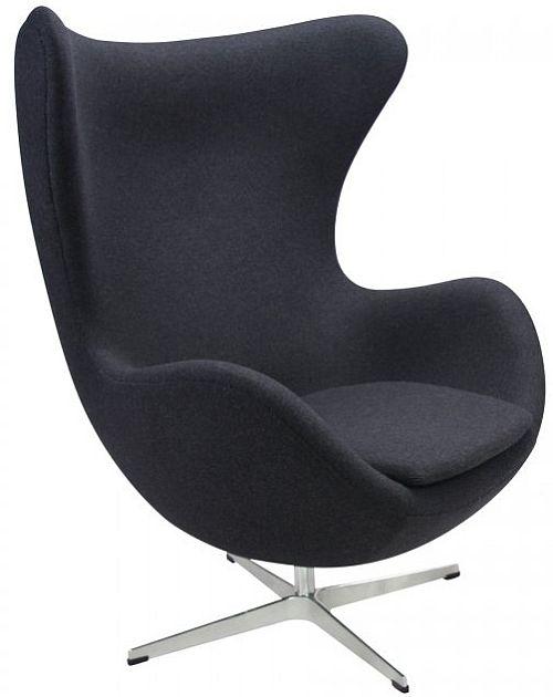 Arne Jacobsen Egg Chair Black