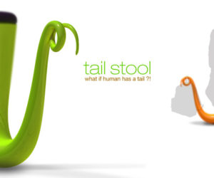 Funny Tail Stools by Y Zin Chang