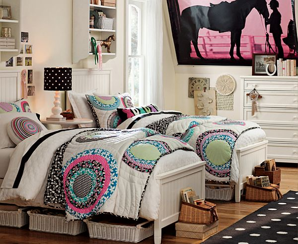 ... room feel unique View ... & 55 Room Design Ideas for Teenage Girls