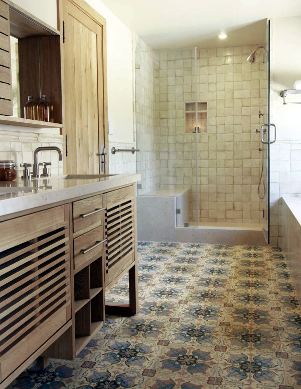 Mix And Match Patterned Tiles For A Unique D Cor