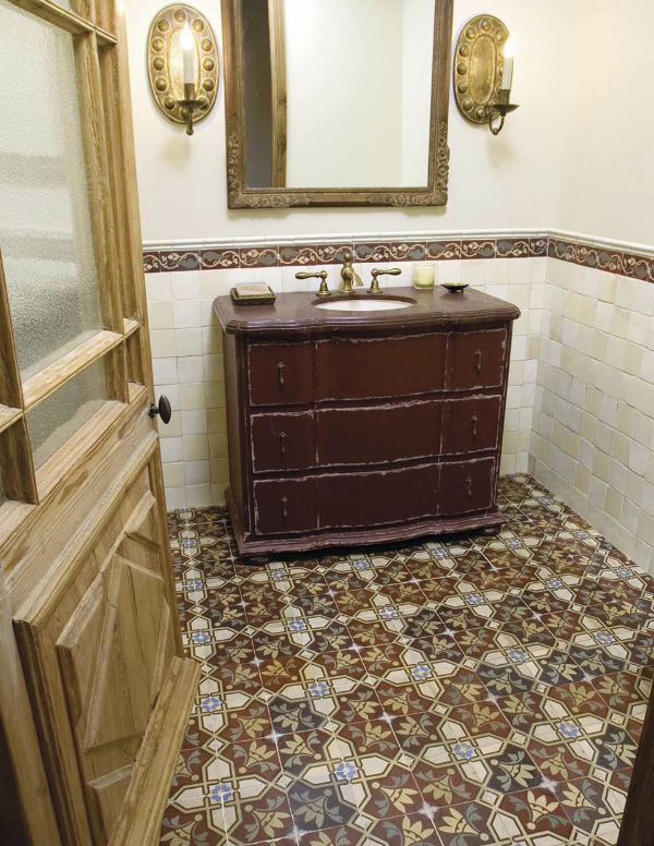 Mix And Match Patterned Tiles For A Unique D 233 Cor