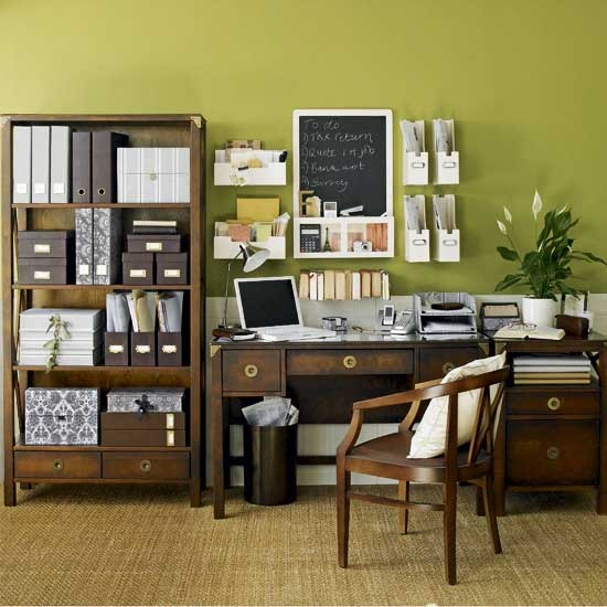 Top 38 retro home office designs - Elegant office home design ...