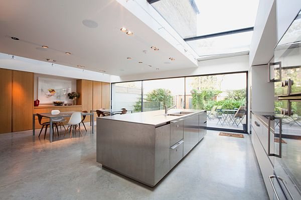 Contemporary London residence kitchen
