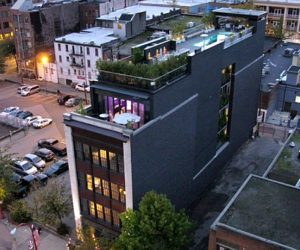 Penthouse in Vancouver's historic Chinatown With Roof Swimming Pool