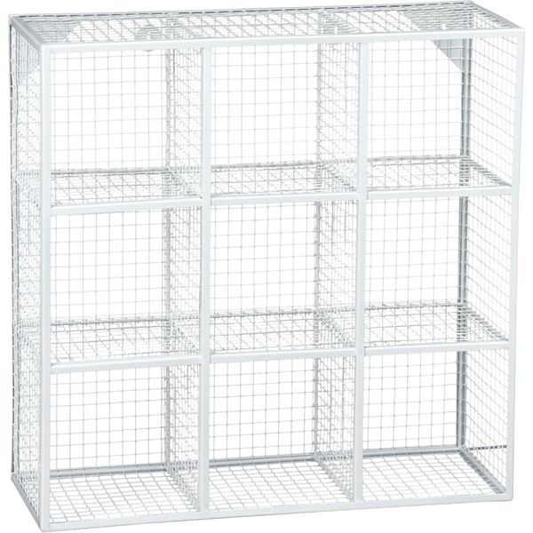 wire 9 wall shelf rh homedit com Wire Cube Shelving wire frame shelving unit