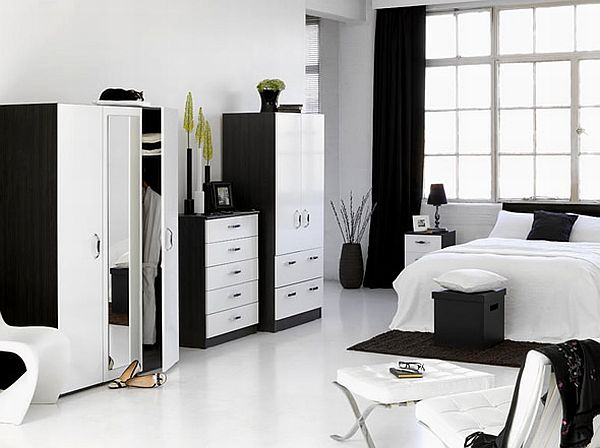 decorate a bedroom with white furniture How to